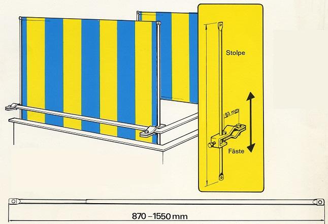 balkongskydd clipper